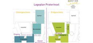 Markt der Sinne Praterinsel München Lageplan